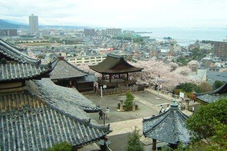 三井寺高台