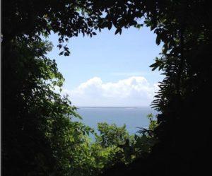 久高島を望む