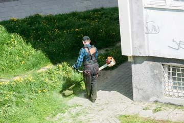 篠栗町 一軒家 庭の草刈り|えびす造園