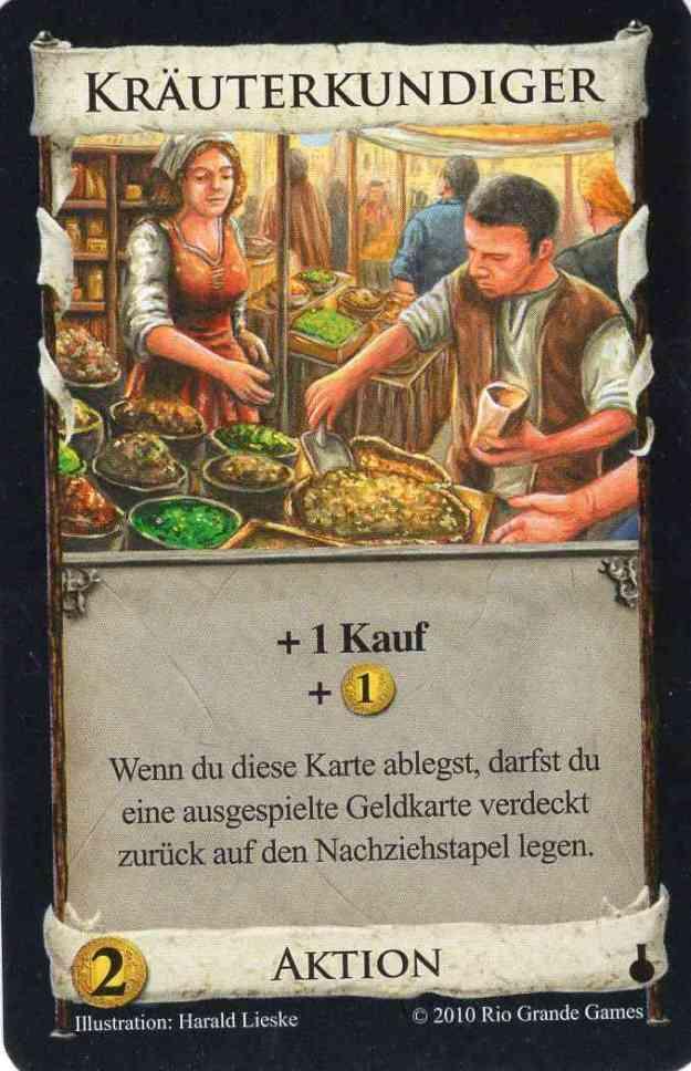 Dominion Alchemisten Kräuterkundiger