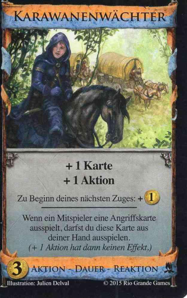 Dominion Abenteuer Karawanenwächter