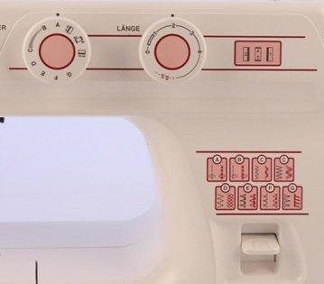 W6 N 1615 Nähmaschine - Stichauswahl