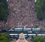 【12万人!】8/30国会前がすごいことに!坂本龍一降臨!国会前の模様速報動画