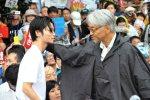 【教授!】2015/8/30国会前デモでの坂本龍一スピーチ「皆さん、もし安保法案が通っても、そこで終わりにしないで」