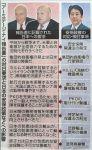 【ついに新聞記事に!】安倍政権の政策はアメリカの要望の完全コピー!加速する日本の植民地状態!9月22日東京新聞