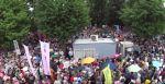 【現場から】8/30国会前デモの事実:地上5メートルからの撮影で日比谷公園や森の中の人たちの存在が可視化!