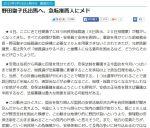 【急転】野田聖子氏自民総裁選出馬か?推薦人28人確保と日刊スポーツ