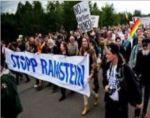 ドイツでアメリカの好戦主義的な政策に反対するデモが行われる!ドイツからアメリカ軍の撤退を!