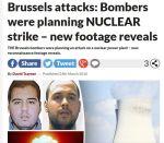 【衝撃】ベルギーのテロ実行犯は原発を狙っていた可能性!