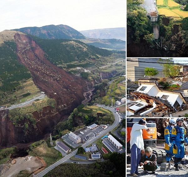 【熊本地震】政府の「激甚災害指定」の遅れを指摘する声多数。東日本大震災では翌日に閣議決定