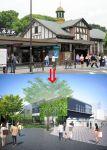 【ただのハコ】東京五輪のために原宿駅が建て替えへ。建て替え後のイメージ図があまりにもダサいと