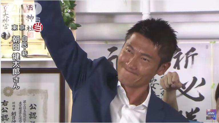 【新入部員】朝日健太郎氏「(改憲について聞かれ)いまそれ聞きますか?新人なんで党の方針に従うだけです。」