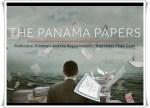 【おおっ】デンマーク政府が匿名の情報提供者から1億円超で「パナマ文書」を購入!自国民の課税逃れを調査するため