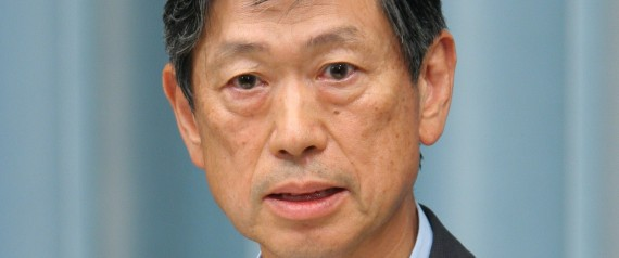 JAPAN - AUGUST 27:  Japan'S Prime Minister Shinzo Abe Reshuffles His Cabinet In Tokyo, Japan On August 27, 2007 - Japan's newly appointed Defense Minister Masahiko Koumura speaks at the Prime Minister's official residence in Tokyo, August 27, 2007.  (Photo by Kurita KAKU/Gamma-Rapho via Getty Images)