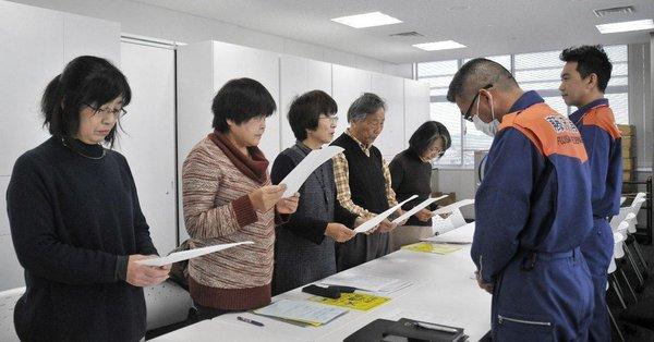 【素晴らしい】「Jアラート訓練の中止」を藤沢市民グループが要請!「外敵をつくりだし、市民に戦争やむなしとの感情を抱かせることにつながる」