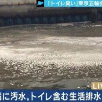 【気持ち悪い】東京五輪スイミング競技場に「トイレットペーパー」選手からは「トイレの臭いがする」
