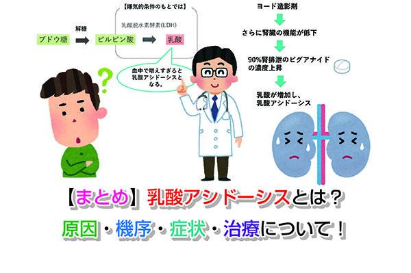 症状 乳酸 アシドーシス