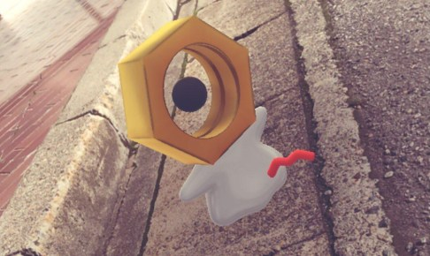 ポケモンGO謎のバグポケモン