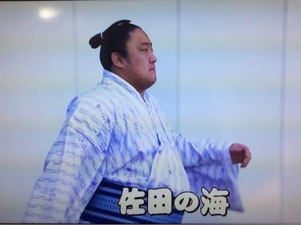 佐田の海の浴衣姿