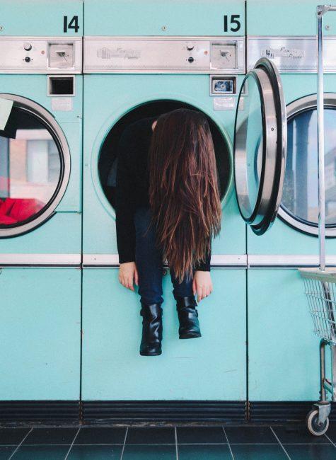 wyprane włosy