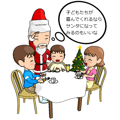 クリスマスとサンタクロースの関係