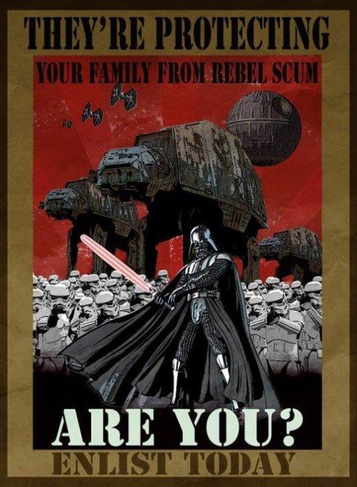 Enlistate en el Imperio