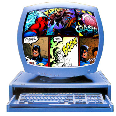 monitor-lector-comic-internet