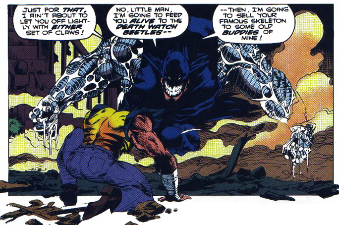 Wolverine vs Cyber