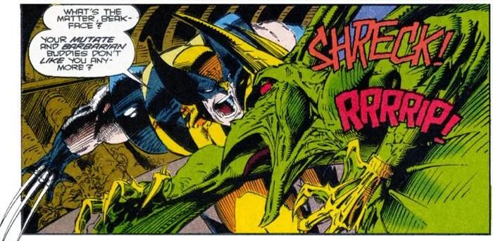 Wolverine vs Sauron