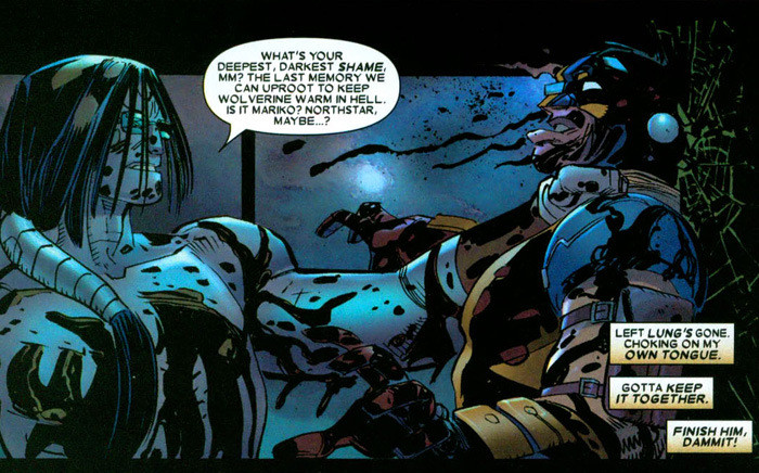 Wolverine vs The Gorgon