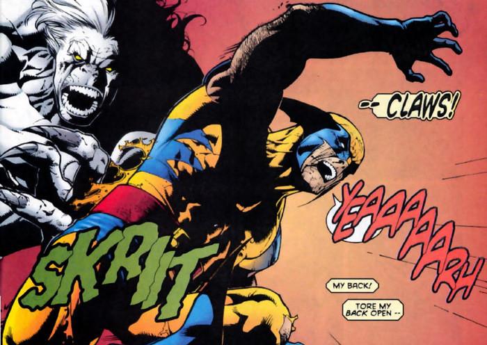 Wolverine vs Wendigo