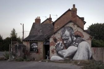 graffiti imposible de mto en rennes, francia