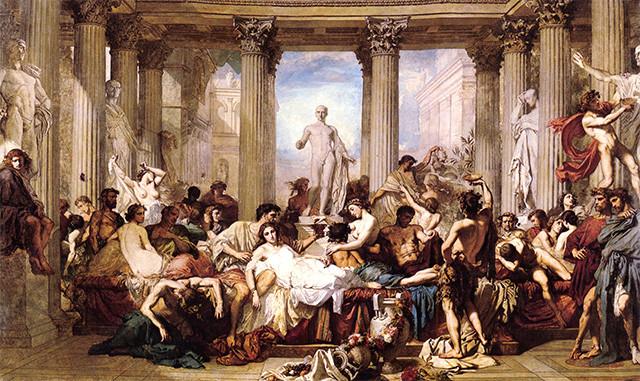 Los placeres de la vida Bacanal-romana-saturnalia