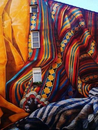 graffiti del colectivo IMVG, en vitoria-gasteiz, españa