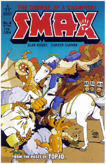 portada-comic-smax-the-charge-of-a-champion