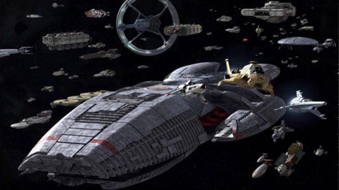 Battlestar-Galactica-flota-naves-espaciales