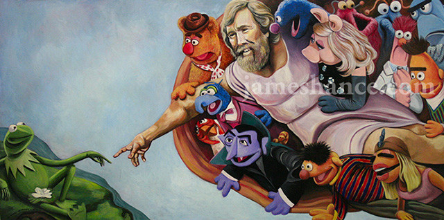 muppet-show-mash-up-miguel-angel-capilla-sixtina