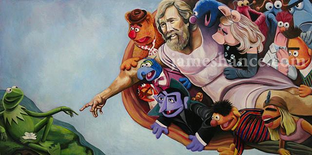 muppet-show-mash-up-miguel-angel-capilla-sixtina