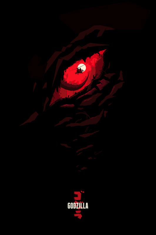 afiche-cine-godzilla-fanArt