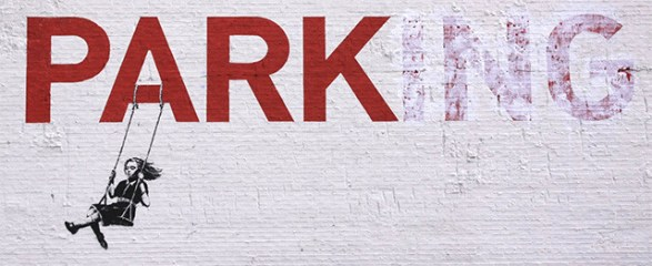 banksy-grafiti-estacionado-columpio