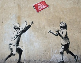 banksy-grafiti-kids-no-juegan-pelota