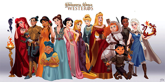 princesas-disney-estilo-game-of-thrones