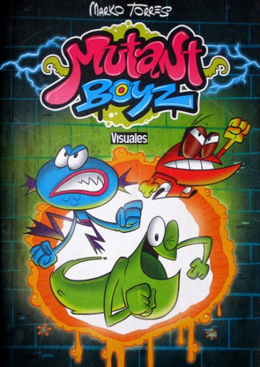 comic-mutant-boyz-gargajo-sopapo-mosca-muerta-portada