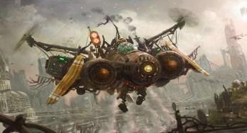 ilustracion-steampunk-avion-chatarra