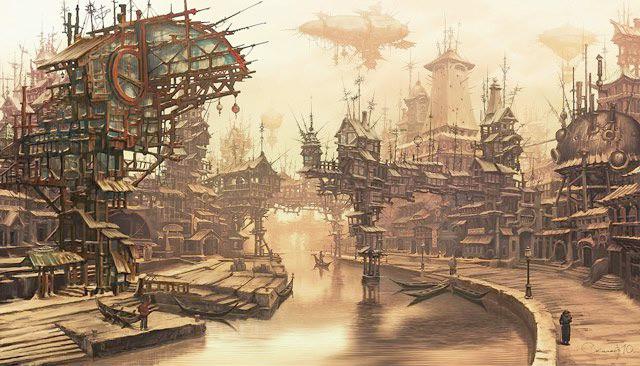 ilustracion-steampunk-venezia