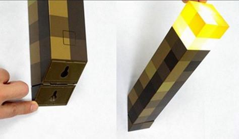 antorcha de Minecraft