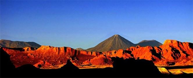 mitología chilena: zona norte - Valle de la Luna al atardecer