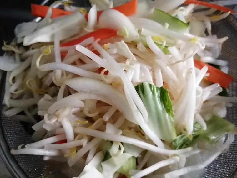カット野菜300g