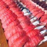 2018/9/22 寿司会 横浜市 天然本マグロ、天然インドマグロ、出張寿司