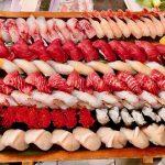 2020年9月 ホームパーティー 御親族の集まり横浜市 出張寿司 大間本マグロ アカムツ 白甘鯛 キンメダイ